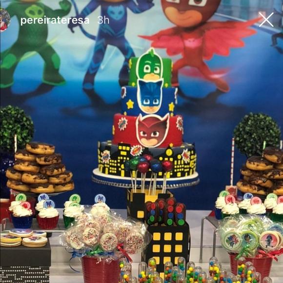 Other Pj Mask Birthday Fake Cake Poshmark